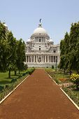 The Victoria memorial, Kolkata.