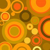 Composition With Circles Ideal For Backgrounds