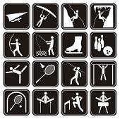 Sport icons set.