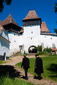 Viscri, Fortified Church In Romania