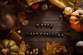 Thanksgiving Background poster