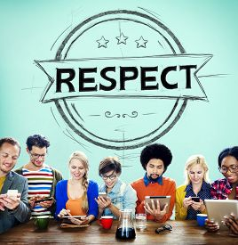 foto of respect  - Respect Honesty Honorable Regard Integrity Concept - JPG