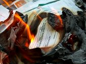 Documents In Fire