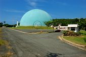 Atomic Reactor At Domes Beach, Puerto Rico, Usa.
