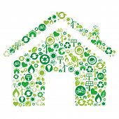 green house illustration,environment icon