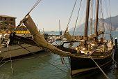 Historic Sailing Boat poster