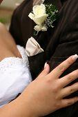 Wedding Day Embrace