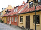 The Old City Of Odense Denmark