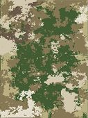 Camouflage vector texture