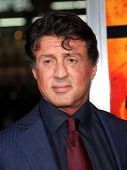 LOS ANGELES - OCT 11: Sylvester Stallone arrives to the