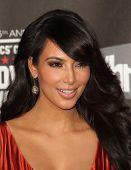 LOS ANGELES - JAN 14:  Kim Kardashian arrives at the 16th Annual