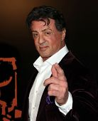 LOS ANGELES - JAN 25:  Sylvester Stallone arrives to the