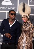 LOS ANGELES - FEB 13:  Lil Wayne & Nicki Minaj arrive at the 2011 Grammy Awards on February 13, 2011 in Los Angeles, CA