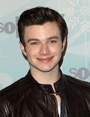 PASADENA , CA - JAN 11:  Chris Colfer arrives at the FOX All-Star Party on January 11, 2011 in Pasadena, CA