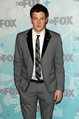 PASADENA, CA - JAN 11:  Cory Monteith arrives at the FOX All-Star Party on January 11, 2011 in Pasadena, CA