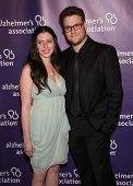 LOS ANGELES - MAR 16:  Seth Rogen & Finace' arrive at the 19th Annual