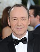 LOS ANGELES - JAN 16:  Kevin Spacey arrives to the 68th Annual Golden Globe Awards  on January 16, 2