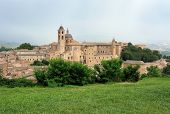 View Of Urbino In Italy
