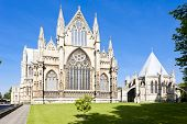 cathedral of Lincoln, East Midlands, England