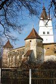 Fortified church of Harman (Honigberg, Szaszhermany) in Transylvania, Romania. UNESCO heritage
