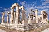 The Temple of Aphaea. Aegina, Greece