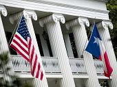 stock photo of texas flag  - Stock photo of the flags of the Texas Governor - JPG