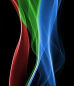 Abstract Smoke Macro Background
