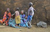 Poor children in Kenya