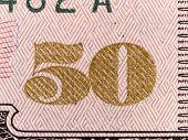 Stock Macro Photo Of U.s. Currency