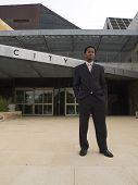 Businessman City Hall