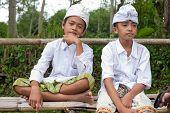 Traditional Balinese Pilgrims