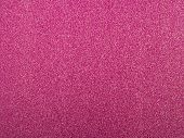 Pink Sequin Background. Pink Violet Sparkle Background. Holiday Abstract Glitter Background With Bli poster