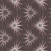 Retro Optical Illusion Seamless Pattern