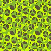 Seamless Organic Net Pattern