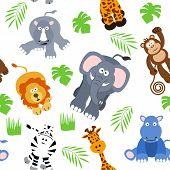 Seamless Safari Background