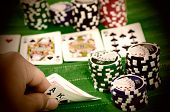 Texas Hold 'Em Big Hand
