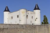 Castle of Noirmoutier en l'Ile in France