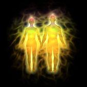 menschliche Aura paar