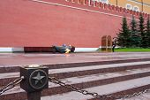 Eternal Flame At The Kremlin Wall In Moscow, Russia