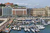Santa Lucia Port In Naples