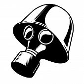 Vector Gas Mask