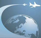 Earth And Aeroplane