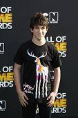 SANTA MONICA, CA - FEB 18: Zachary Gordon at the 2012 Cartoon Network Hall of Game Awards at Barker Hangar on February 18, 2012 in Santa Monica, California