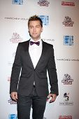 LOS ANGELES - FEB 19:  Lance Bass arrives at the 2nd Annual Hollywood Rush at the Wilshire Ebell on