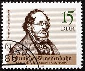 Postage Stamp Gdr 1989 Friedrich List