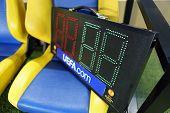 Indicator Tableau At Metalist Kharkiv Football Stadium
