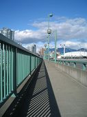 Sunny Day Bridge poster