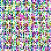 Pastel colors mosaic square tiles illustration background.