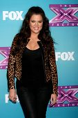 .LOS ANGELES - DEC 17:  Khloe Kardashian Odom at the 'X Factor' Season Finale Press Conference at CB