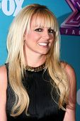 LOS ANGELES - DEC 17:  Britney Spears at the 'X Factor' Season Finale Press Conference at CBS Televi
